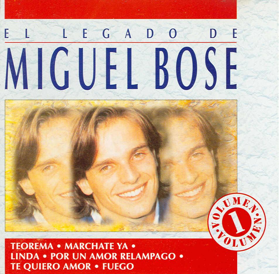 El legado de Miguel Bosé Vol. 1