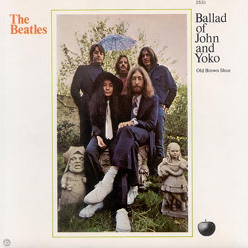 The ballad of John and Yoko / Old brown shoe