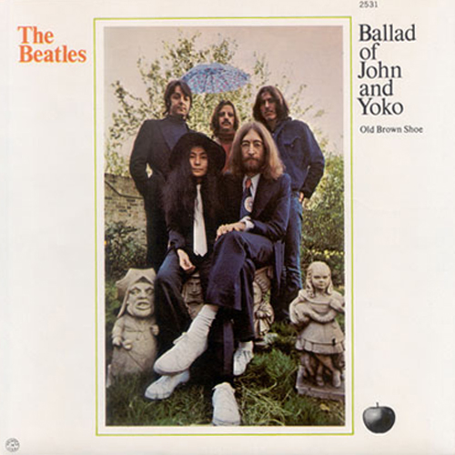 The ballad of John and Yoko / Old brown shoe