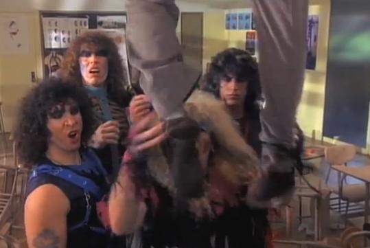 Videoclip: I wanna rock