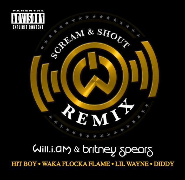 Scream & shout (Remix)