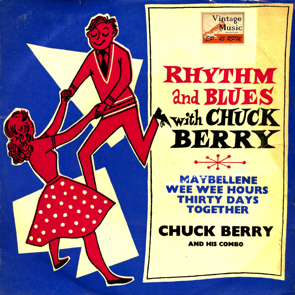 Rhythm and blues witch Chuck Berry