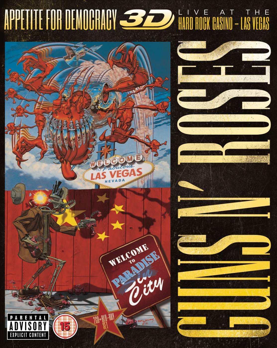 Appetite for democracy 3D