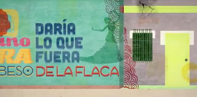 La flaca (Lyric video)