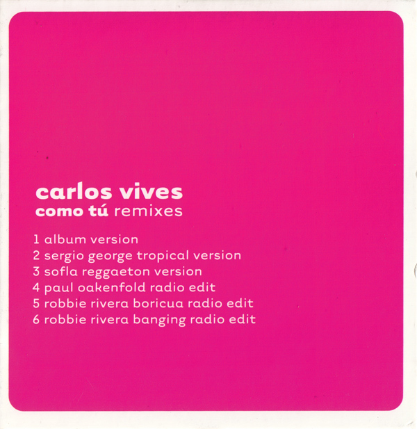 Como tú (Remixes)