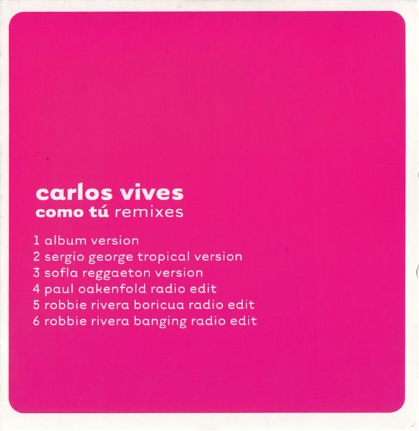 Como tú (Remixes)