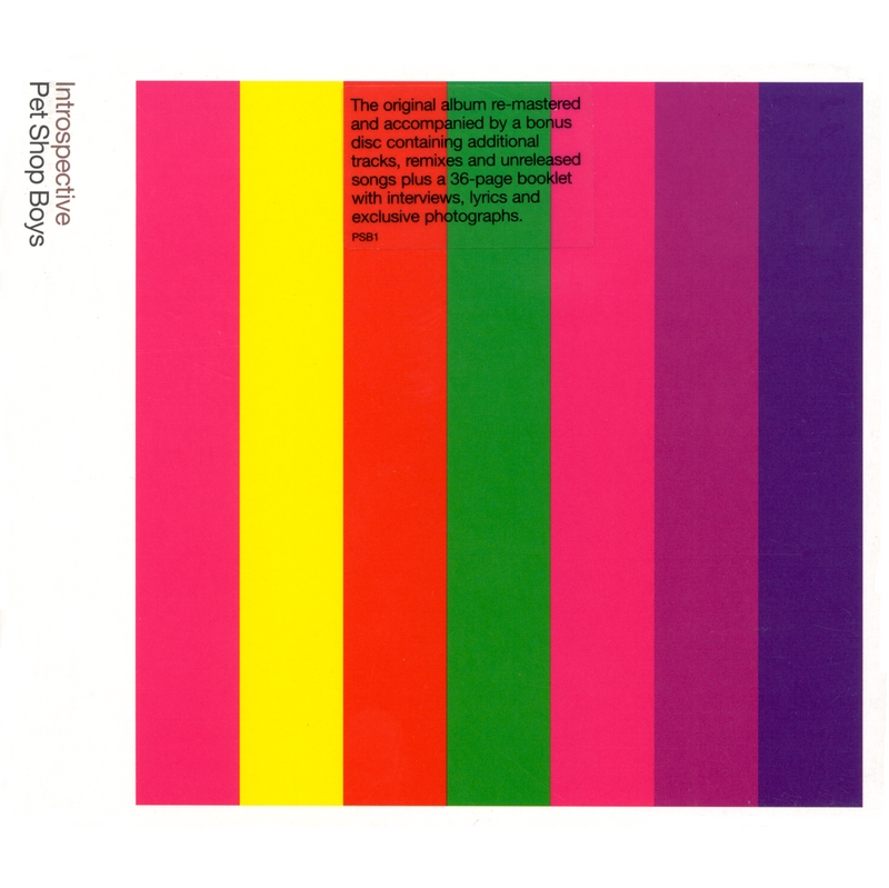 Introspective (Further listening 1988-1989)