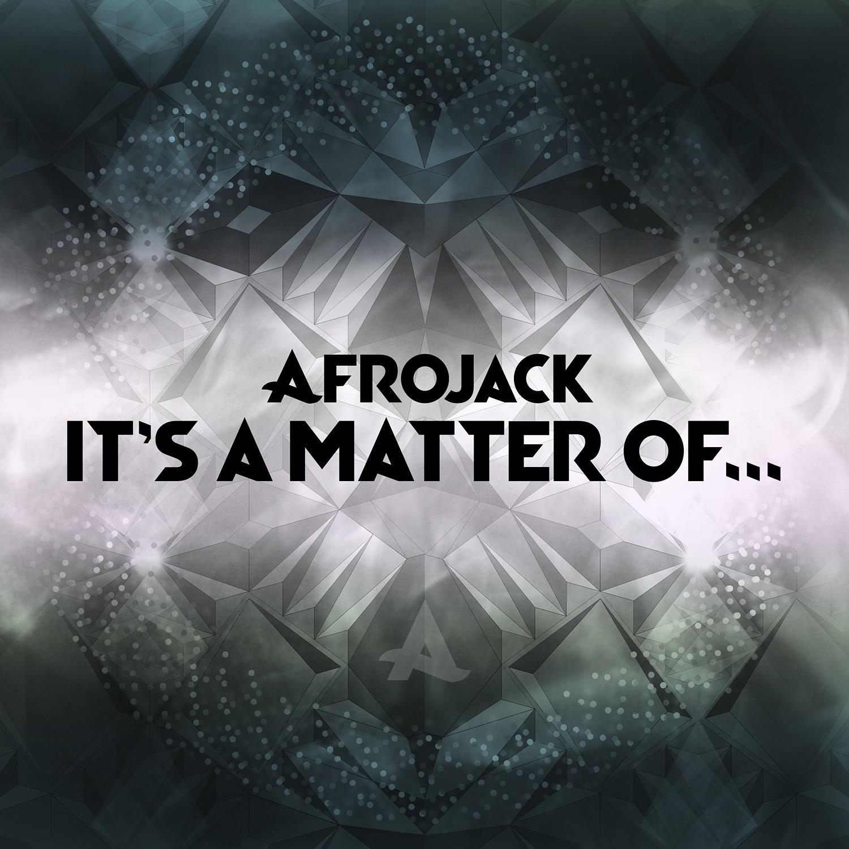 It's a matter of...