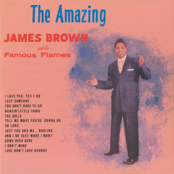 The amazing James Brown