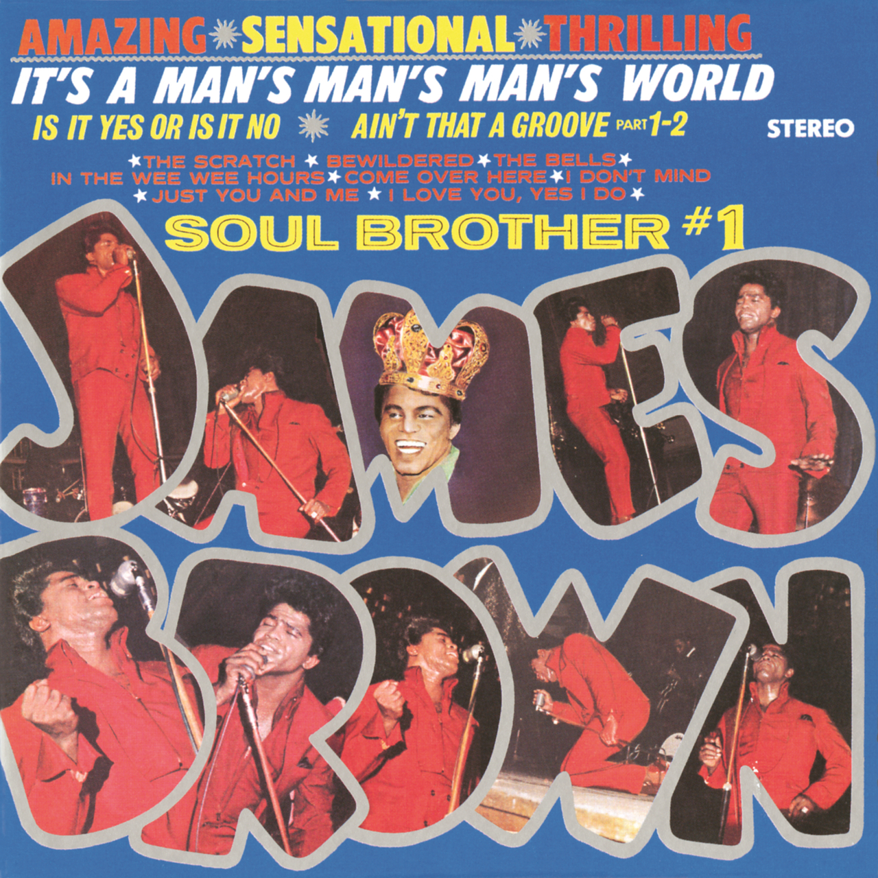 It's a man's, man's, man's world: Soul brother #1