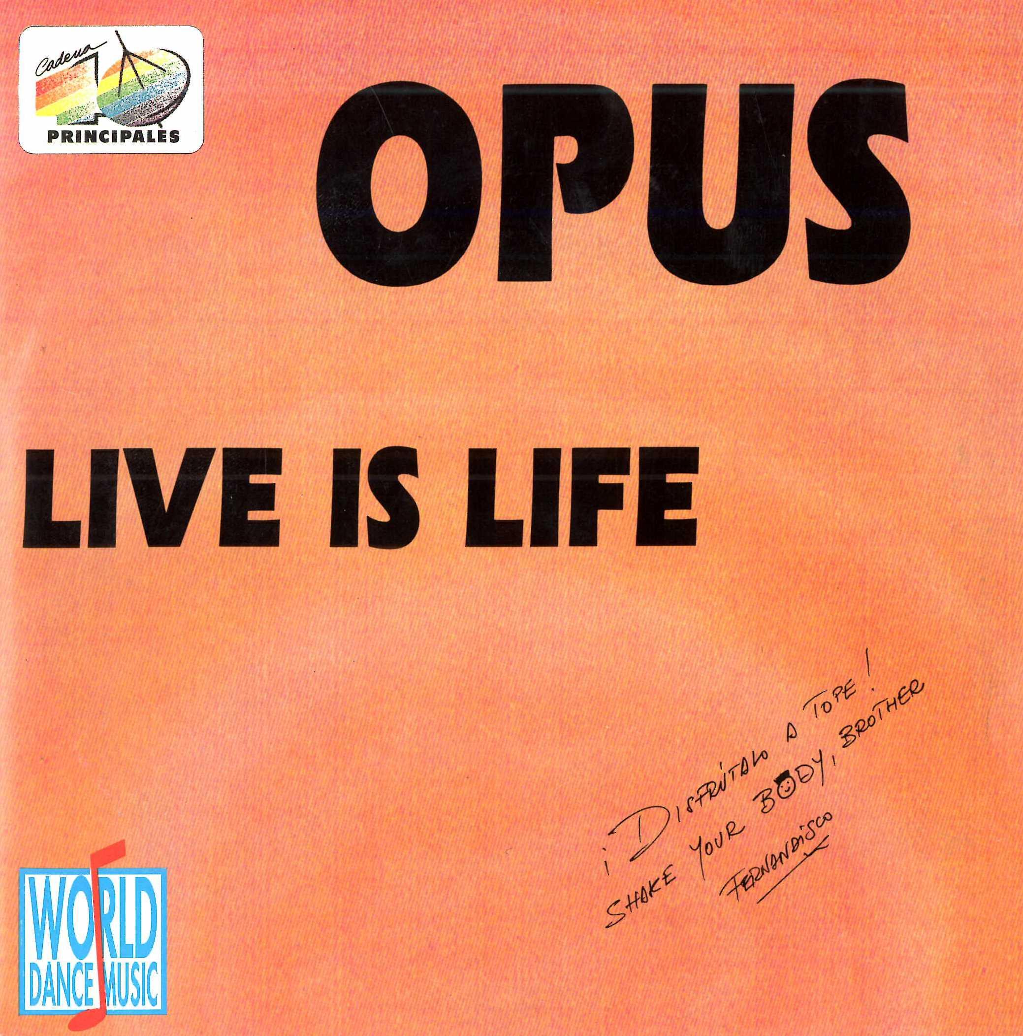 Live is life (Edición especial 40)