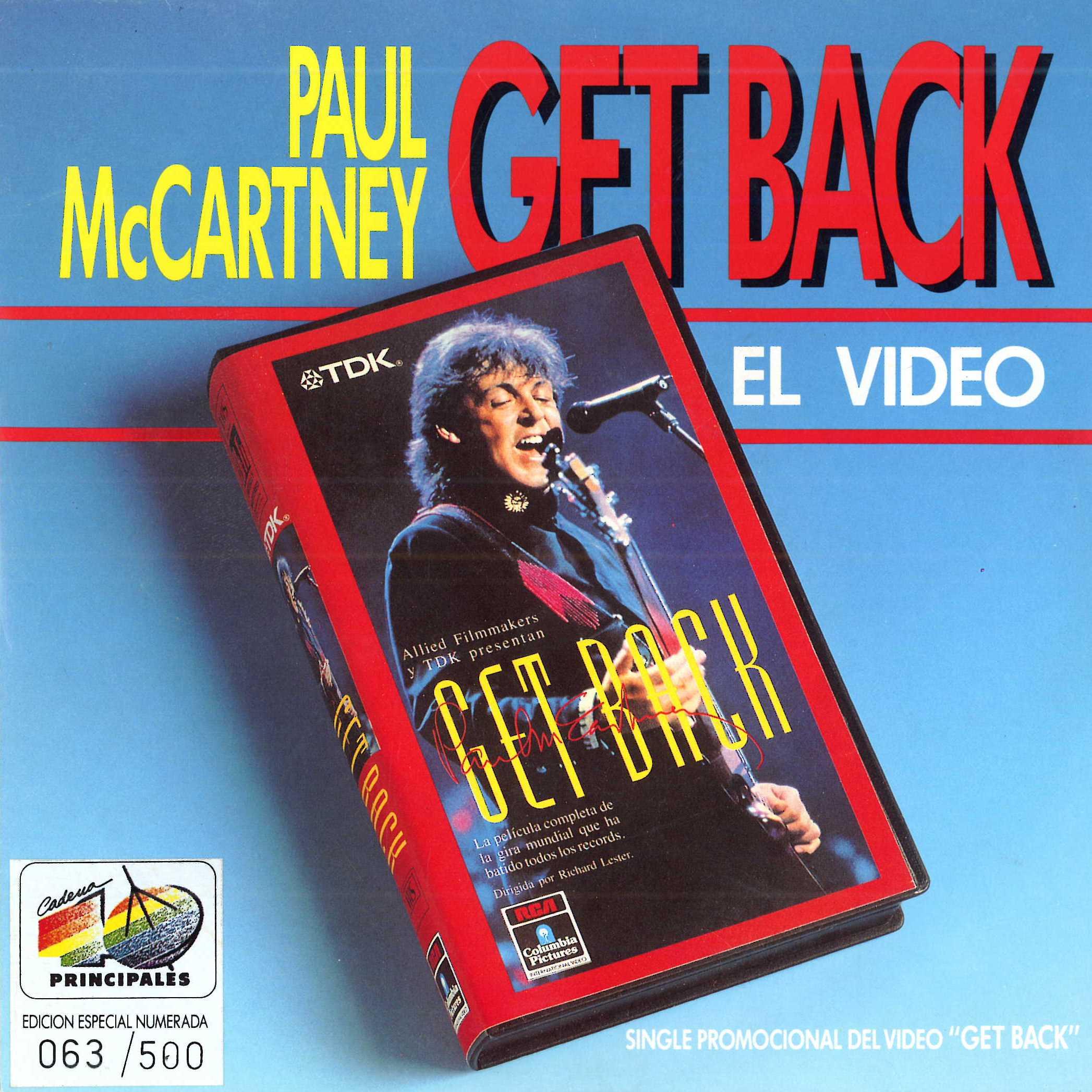 Get back (Edición especial 40)