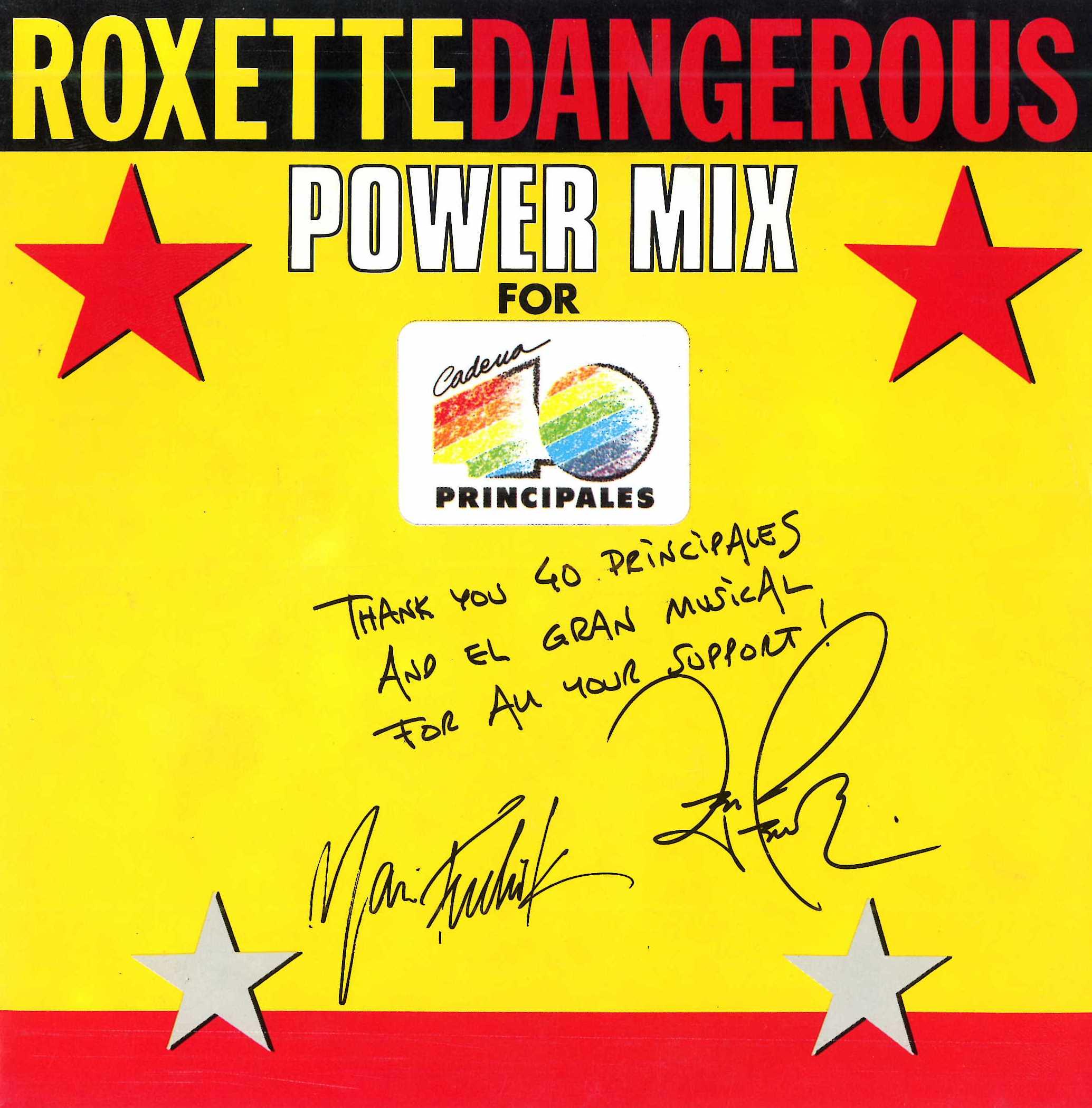Dangerous (Power mix) (Edición especial 40)
