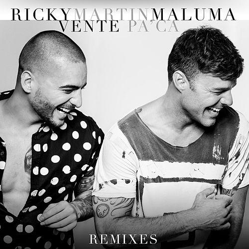 Vente pa' ca (Remixes)