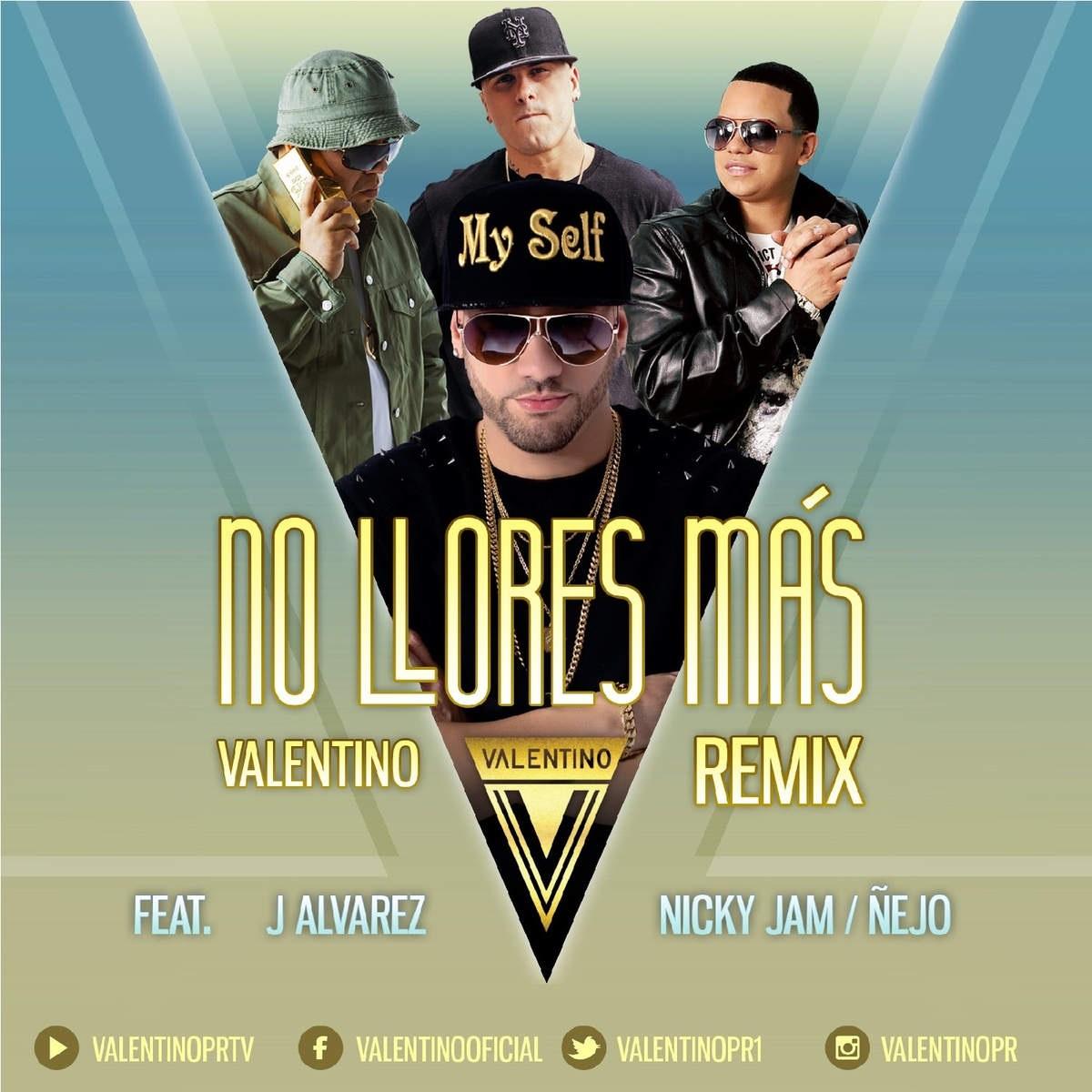 No llores más (Remix)