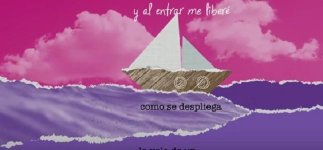 La puerta violeta (Lyric video)