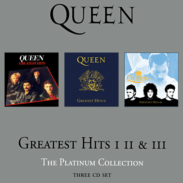 Queen Greatest hits I, II y  III. The platinum collection
