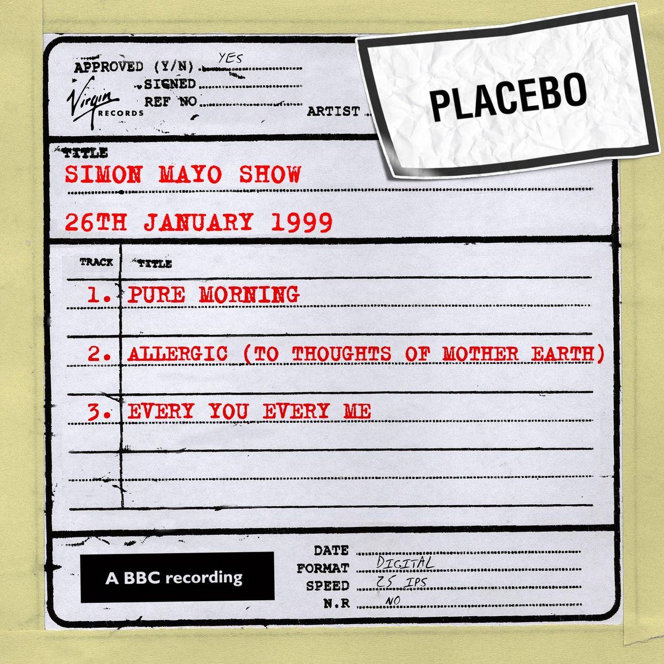 Simon Mayo Show (26th january 1999)