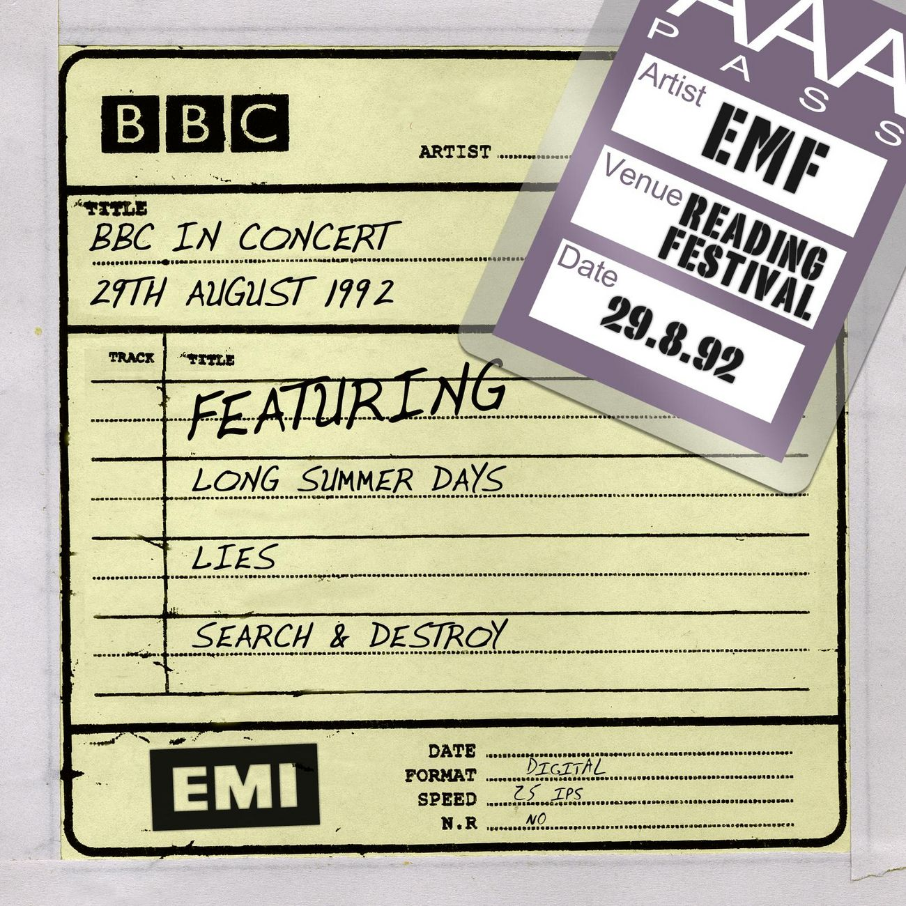 BBC In concert (29th august 1992)