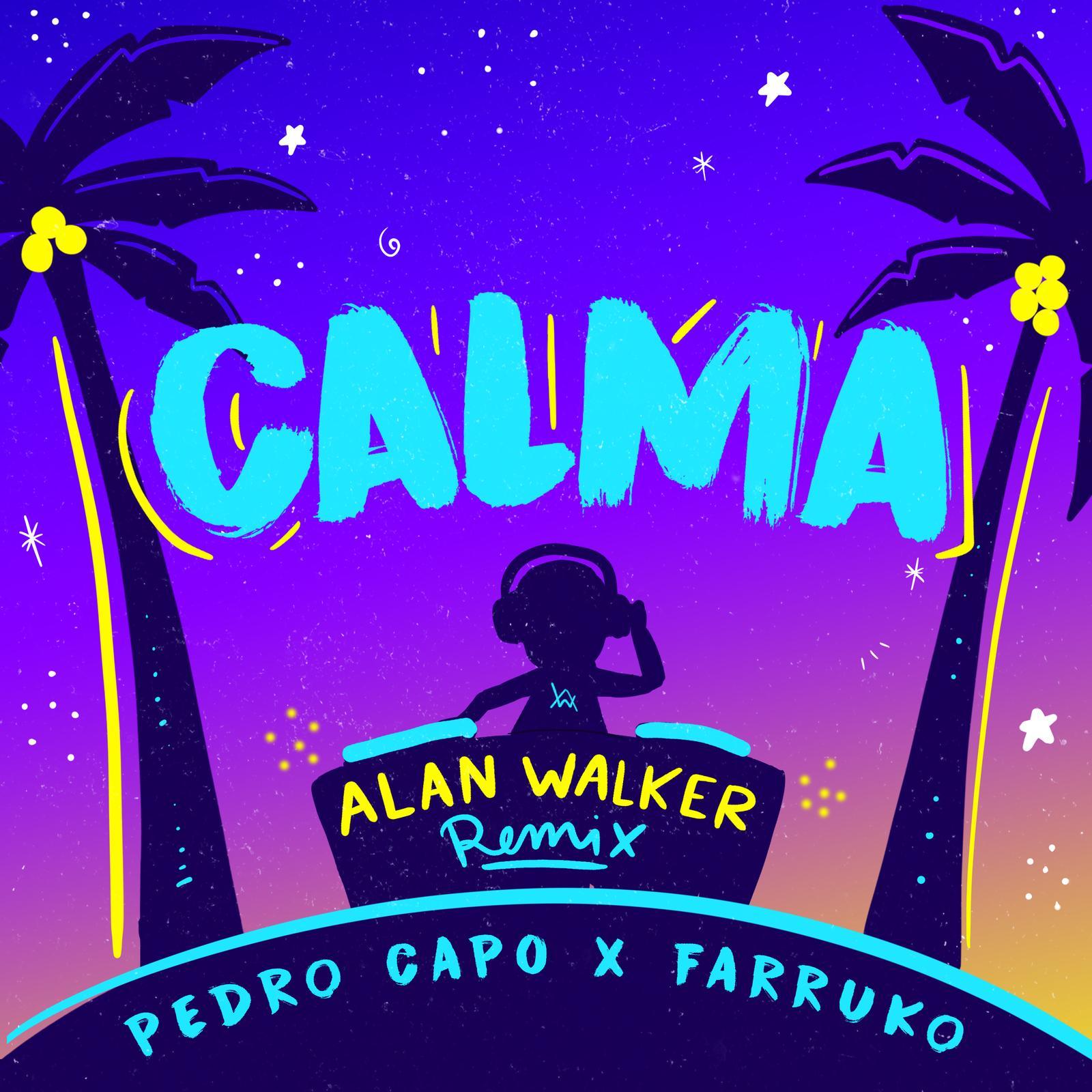Calma (Alan Walker remix)